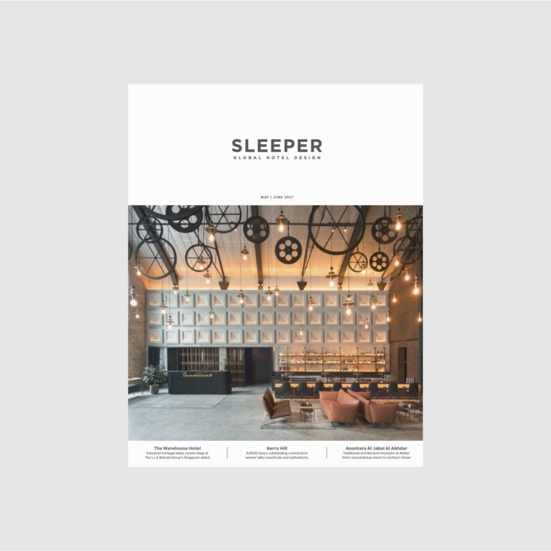 At Six Hotel, Sleeper | Universal Design Studio