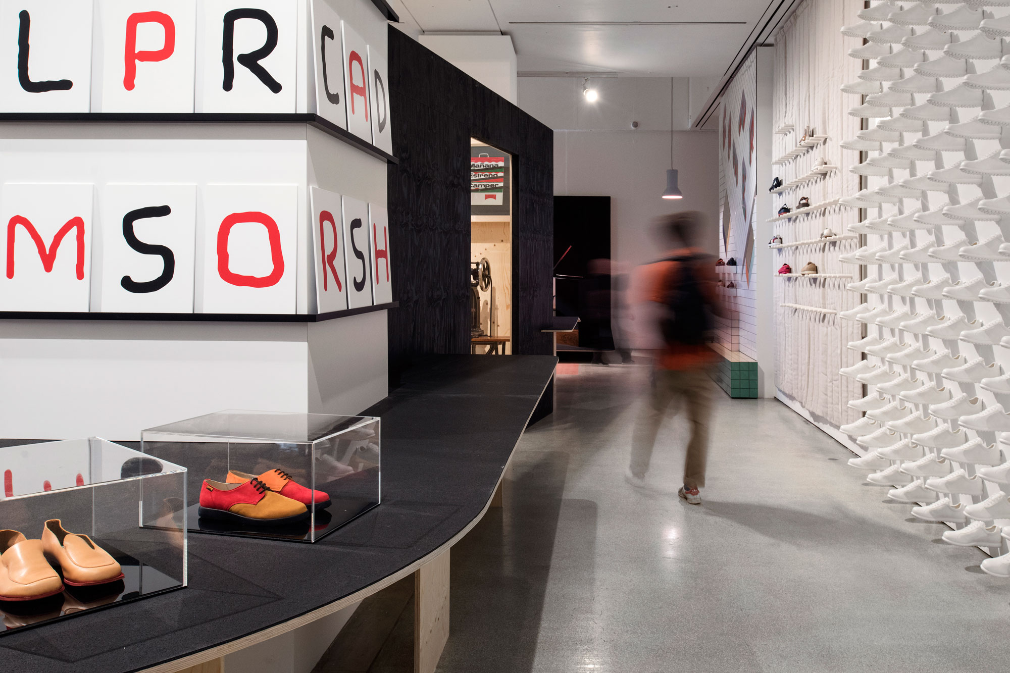 Life on Foot: Camper at the Design Museum | Universal
