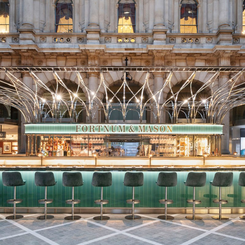 Fortnum & Mason: The Royal Exchange | Universal Design Studio